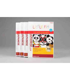 Little Pim Japanese 3 Pack (3 DVD)