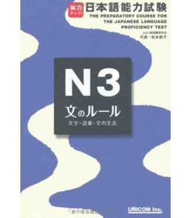実力アップ!日本語能力試験N3文のルール(文字・語彙・文の文法)