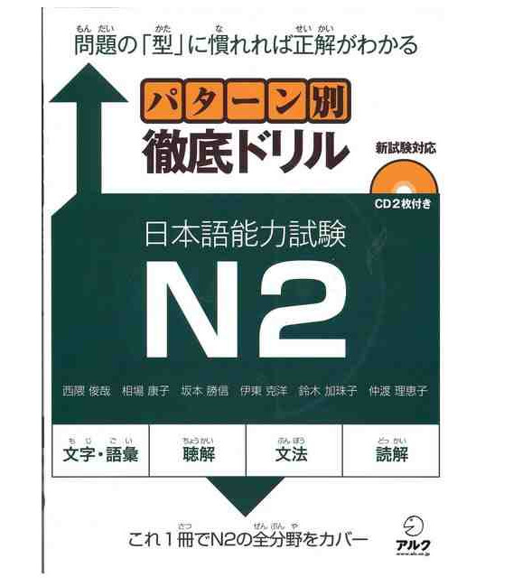 JLPT Japanese Language Proficiency Test Drills Level 2 (ALC)- Incluye CD
