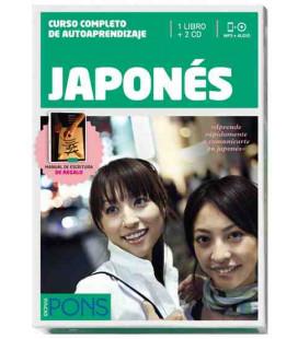 Curso Pons Japonés (Curso completo de autoaprendizaje) Incluye libro y 2 CD Audio MP3