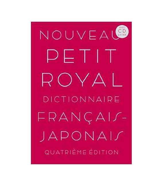 Nouveau Petit Royal Dictionnaire Français - Japonais (Acec CD Extra)