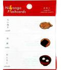 "Notas Adhesivas japonesas (post-it) ""Nihongo flanshcards"" - Wagashi (Japanese sweets)"