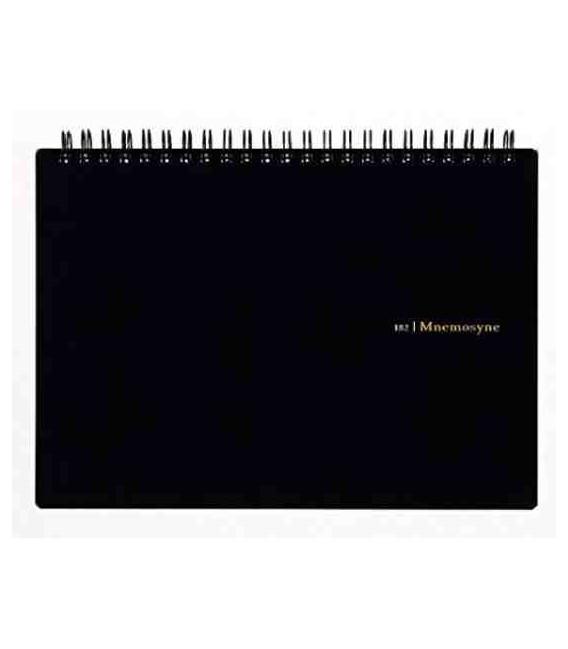Maruman Mnemosyne Notebook N182A (Tamaño A5) - Cuadrículas de 5 mm